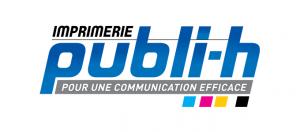 logo imprimerie publi-h